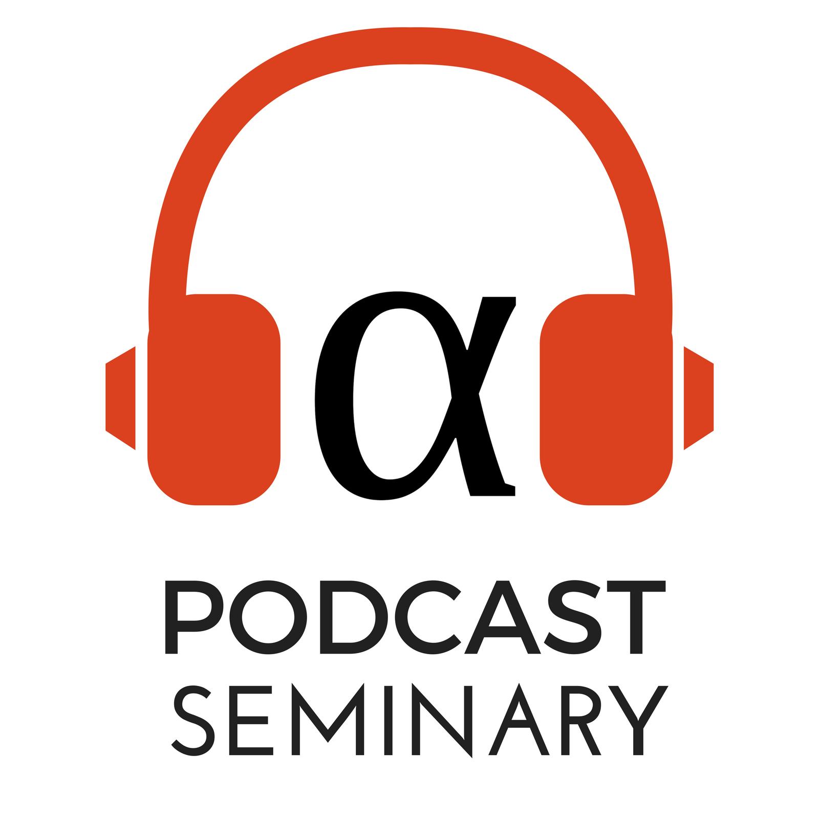 Podcast Seminary show art