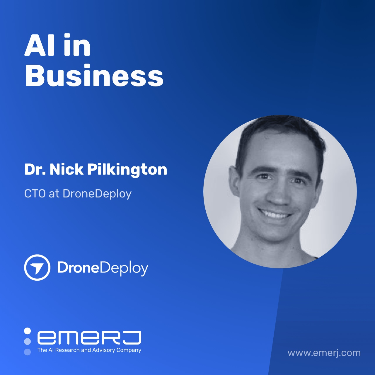 Building AI Products That Clients Actually Use - with Dr. Nick Pilkington of Drone Deploy