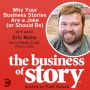 Artwork for #28: Why Your Business Stories Are a Joke (or Should Be)