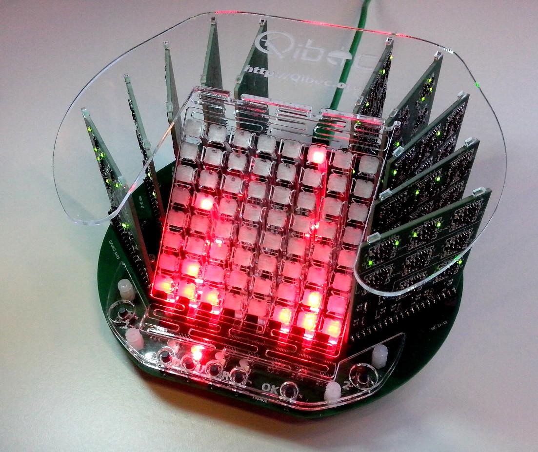 assembled CPU