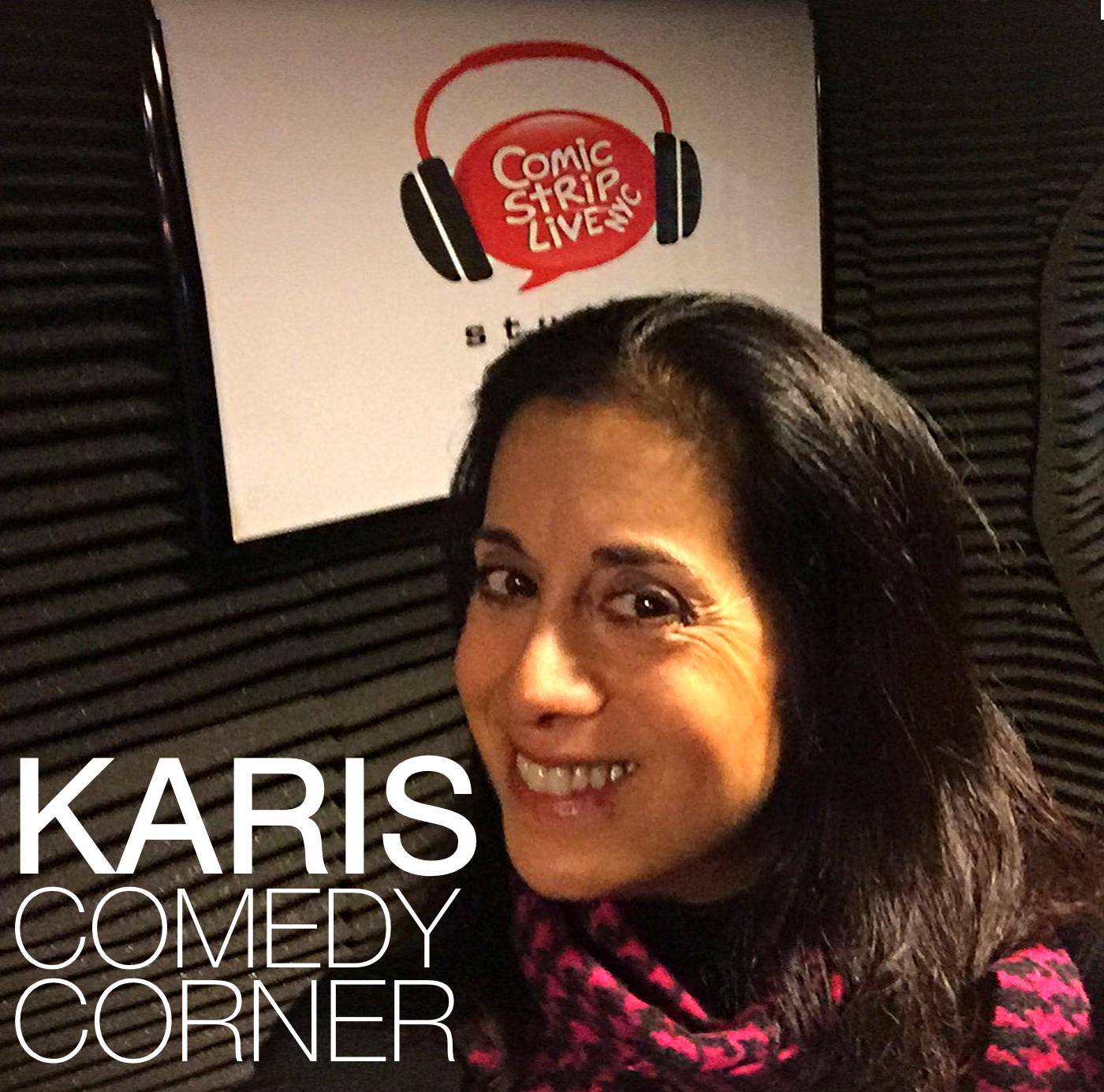 Karis Comedy Corner Podcast show art