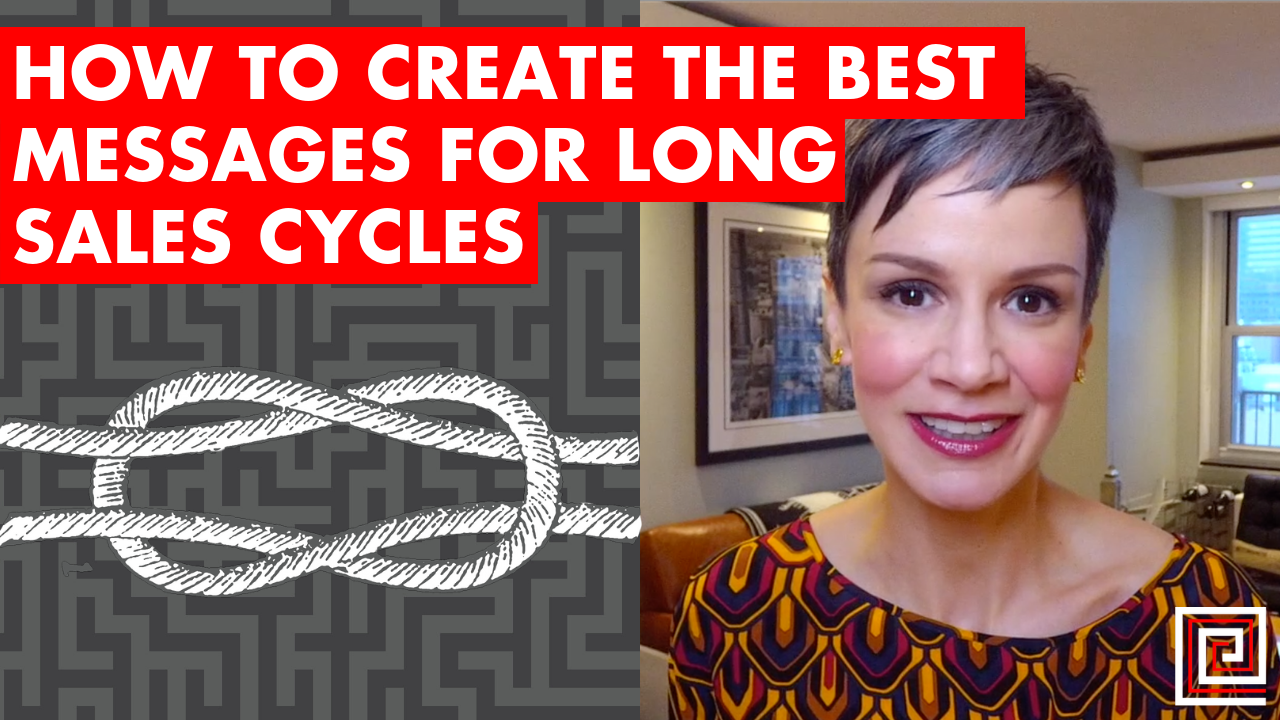 Artwork for How to Create the Best Messages for Long Sales Cycles - EP:095
