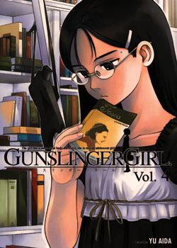 Manga Review: Gunslinger Girl Volume 4 by Yu Aida