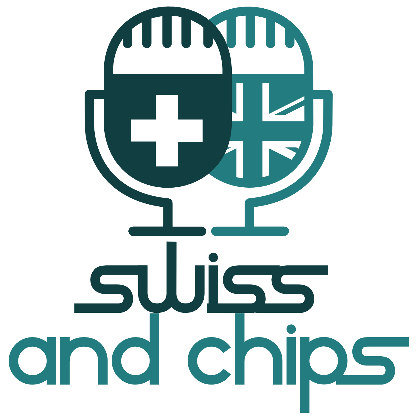 Swiss and Chips - Your British guide to Switzerland show art