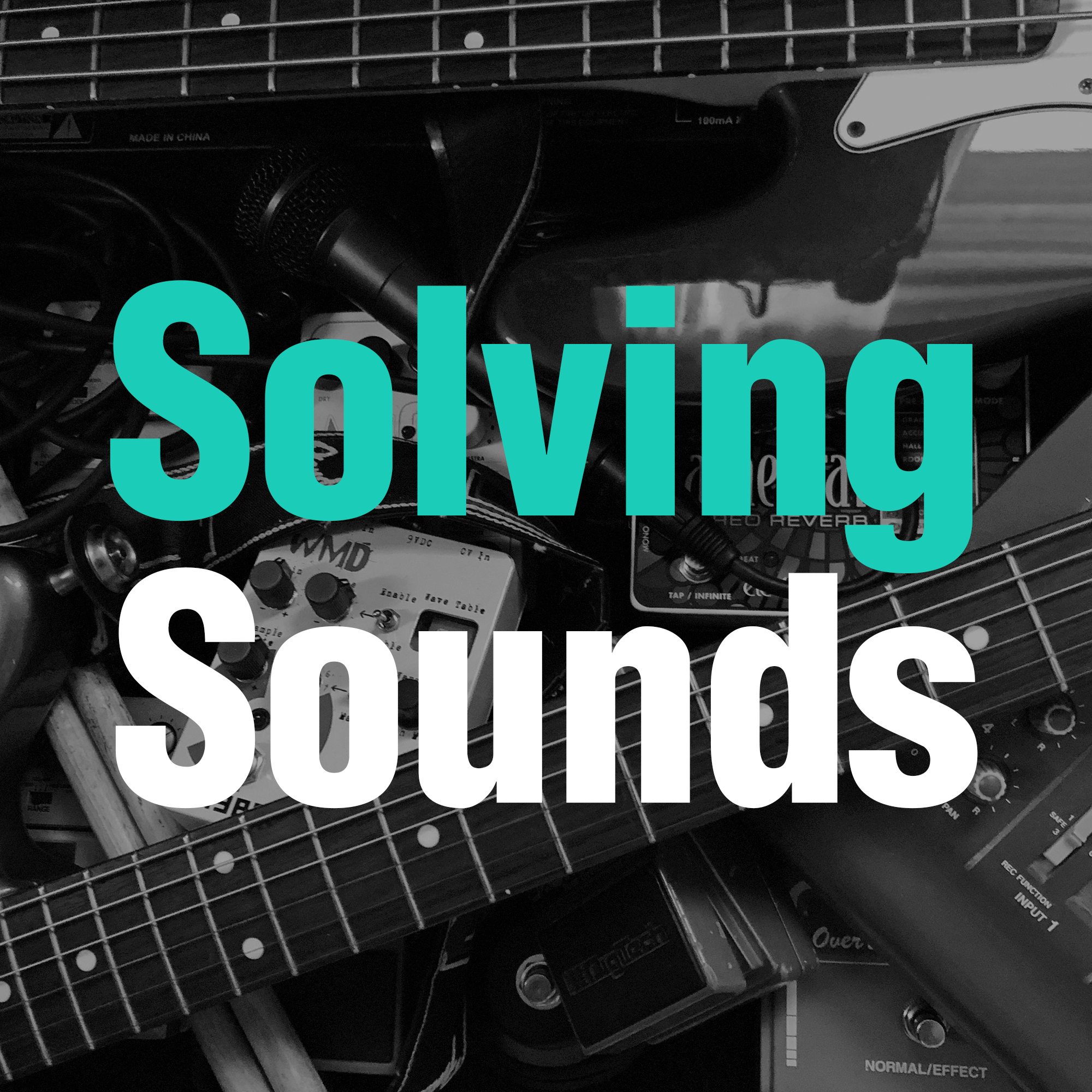 Solving Sounds show art