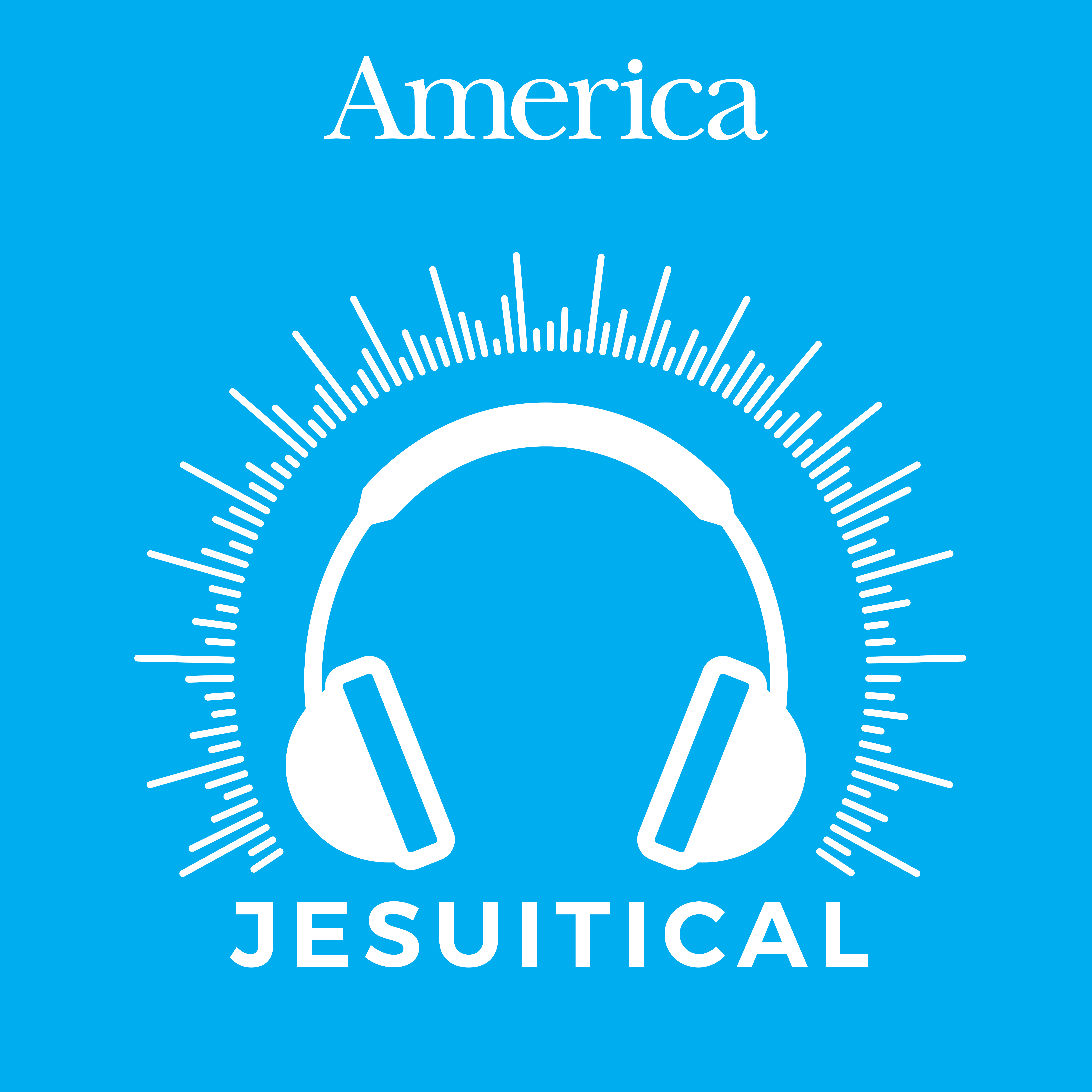 Jesuitical: A Podcast for Young Catholics show art