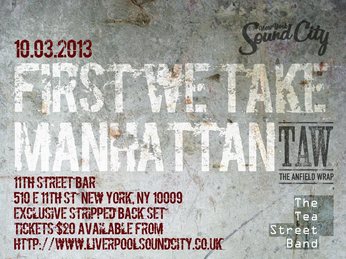 CITYTALK: FIRST WE TAKE MANHATTAN