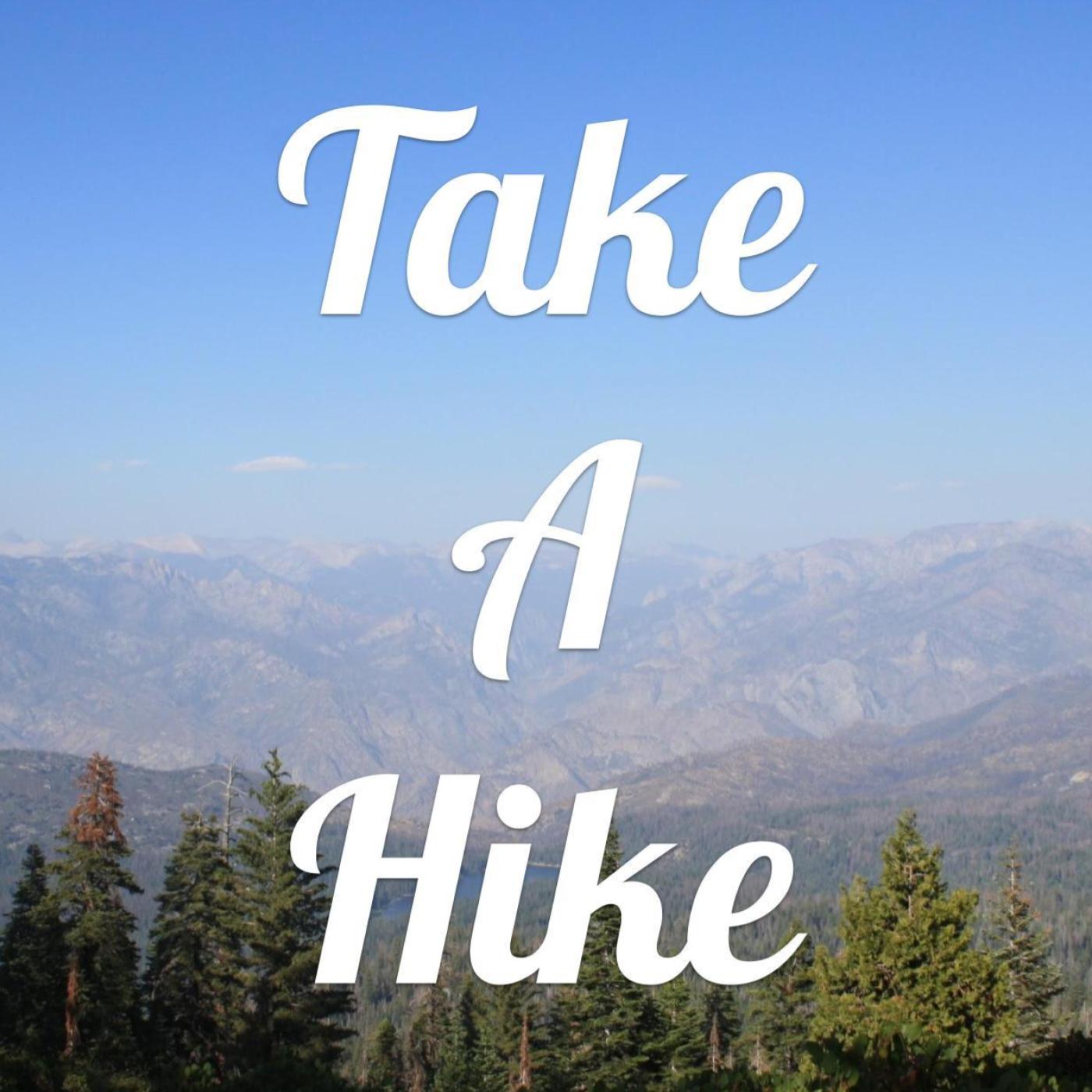 Take A Hike show art