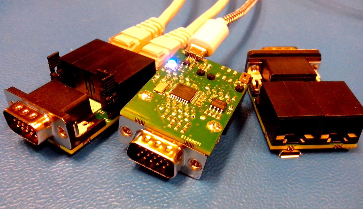 DMX512 VGA generator boards.
