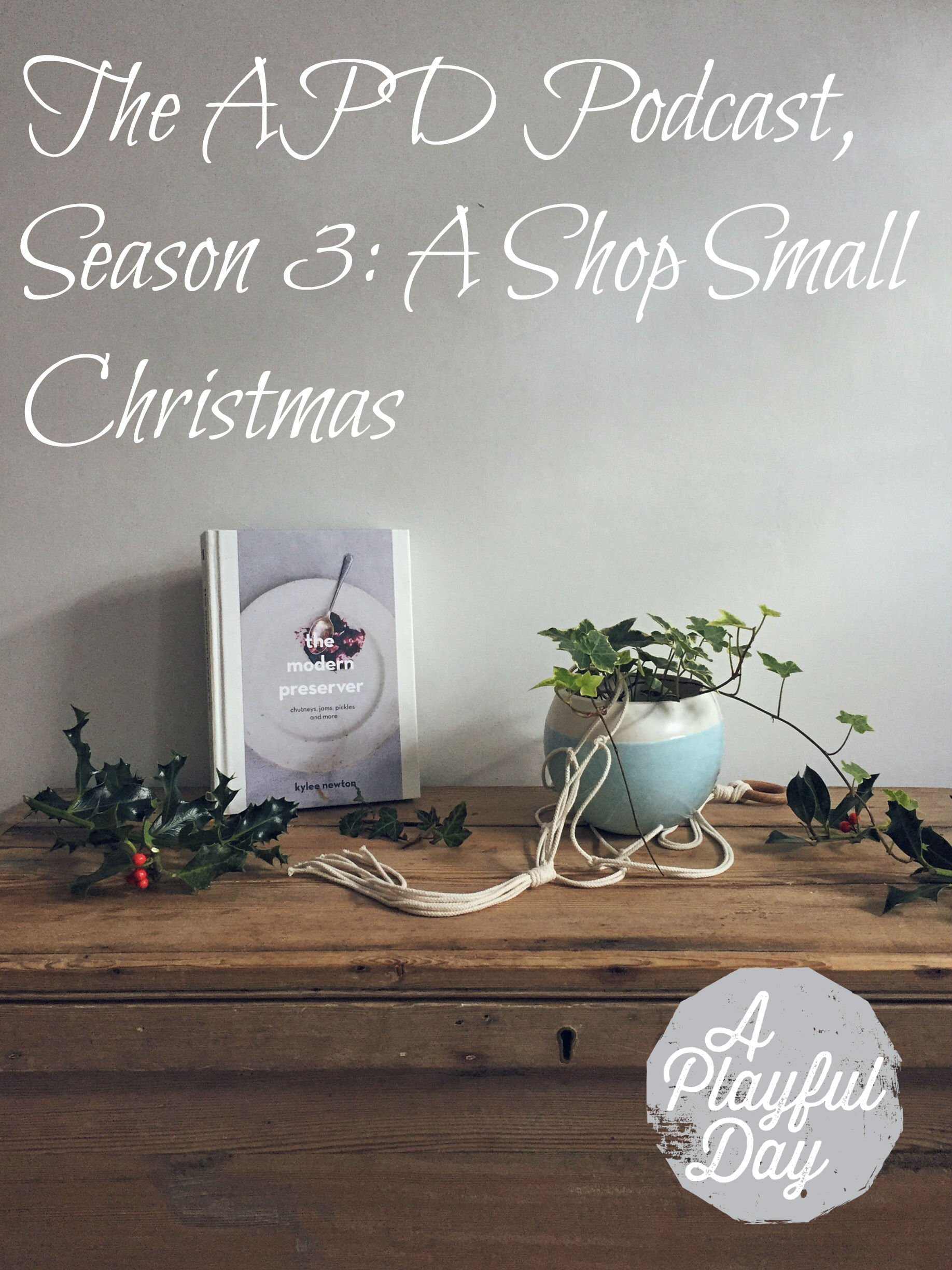 The APD Podcast, Season 3: A Shop Small Christmas