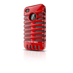 Musubo Retro Red iPhone Case