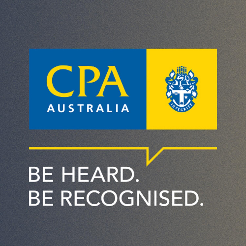 CPA Australia Podcast logo