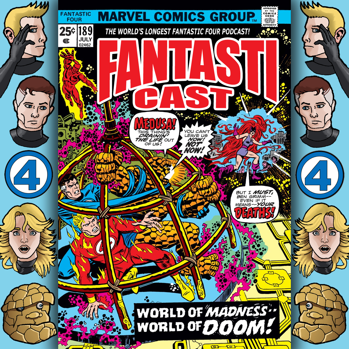 Episode 189: Fantastic Four #152 - A World Of Madness Made