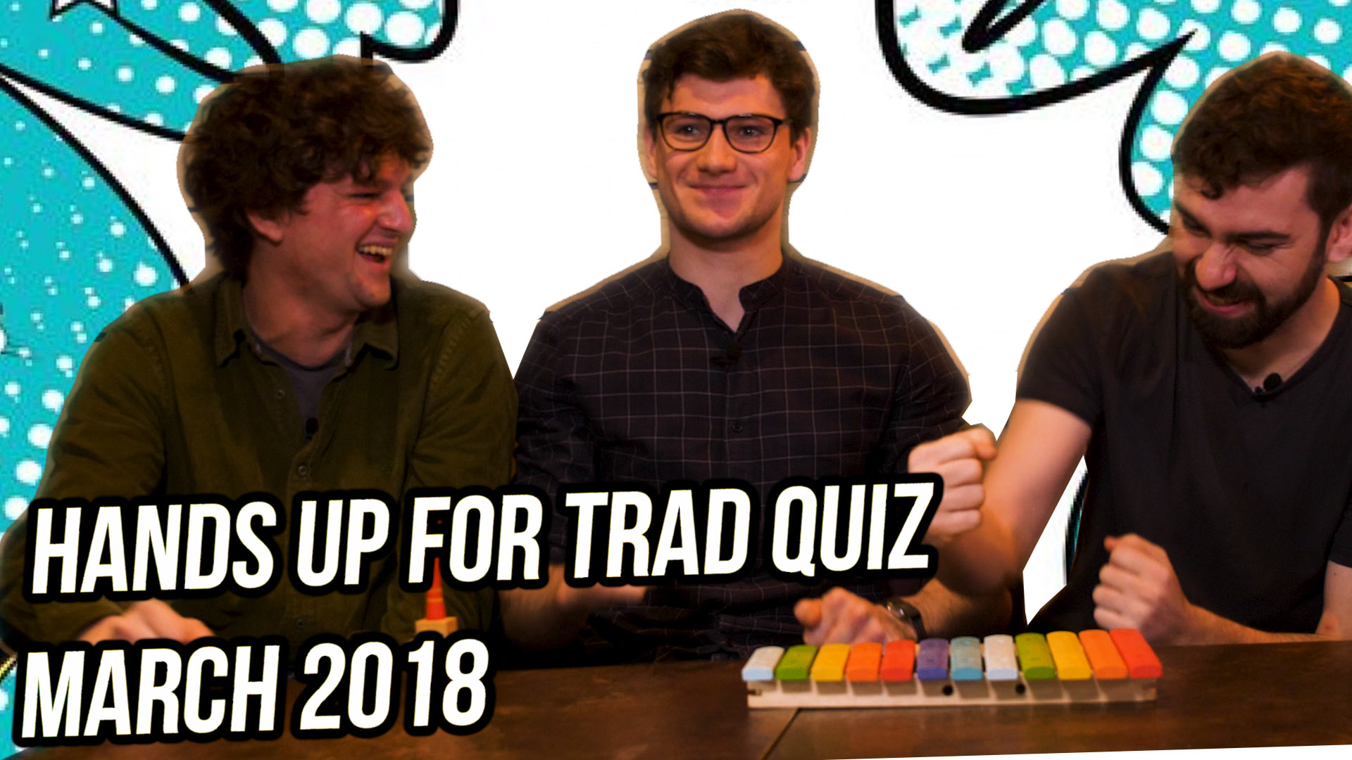Artwork for Hands Up for Trad March 2019 Quiz - Eabhal vs Project Smok!