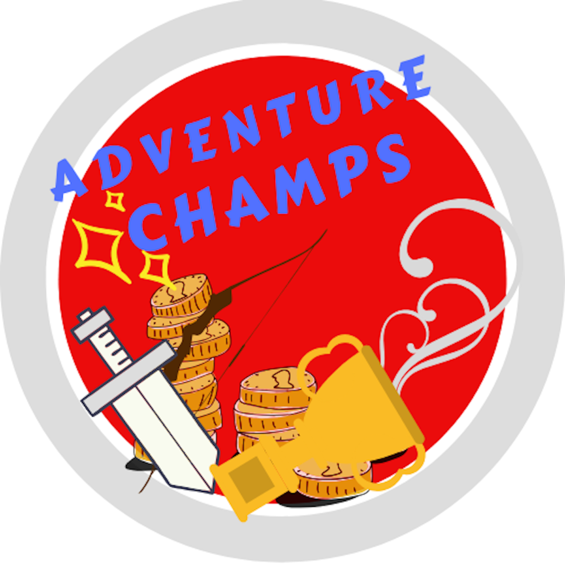 Adventure Champs show art