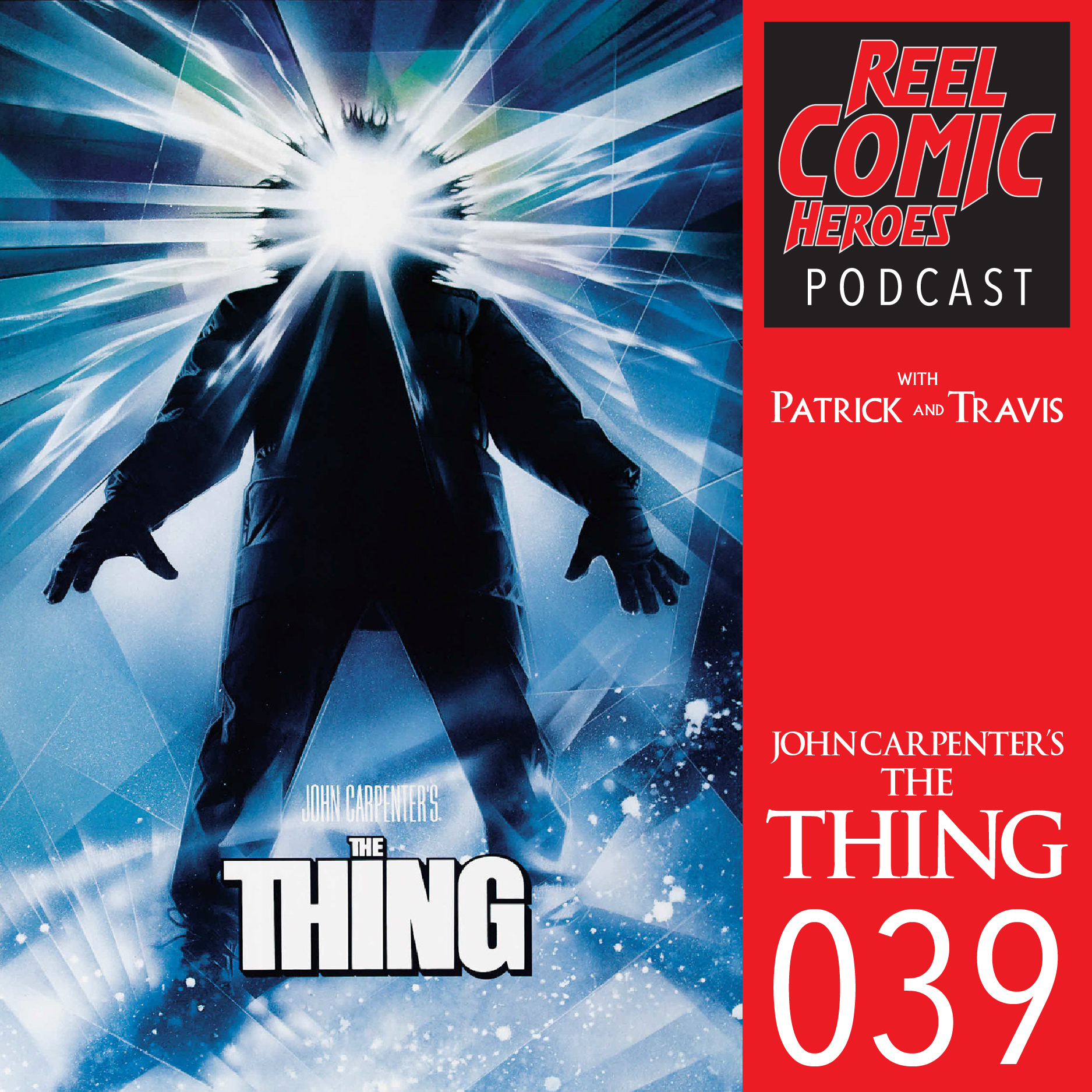 Artwork for Reel Comic Heroes 039 - The Thing