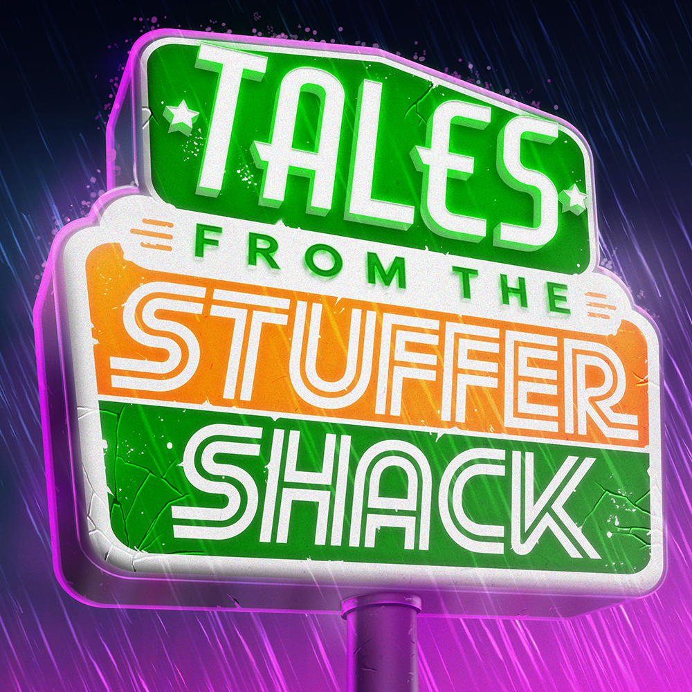 Tales from the Stuffer Shack 28 - The New Drone show art