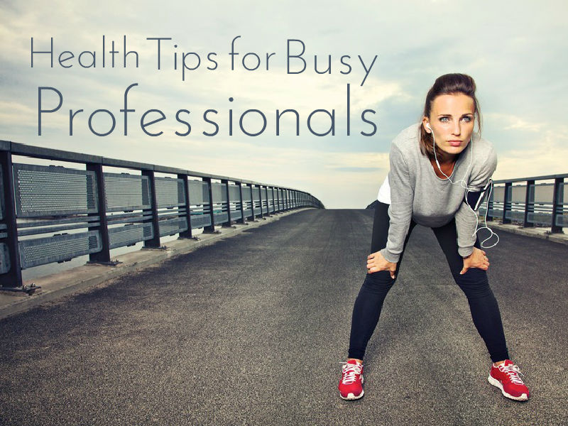 """Health Tips for Busy Professionals"" with Dr. James Marcum"