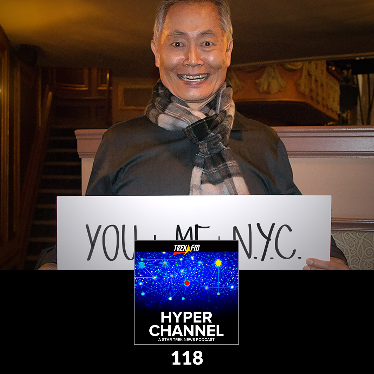 Hyperchannel 118: YOU + ME + NYC