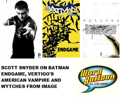 Scott Snyder On Batman's 75th, American Vampire  & Wytches From Image