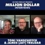 Artwork for Toni Vanschoyck & James (Jay) Treloar: Million-Dollar Power Couple