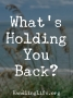 Artwork for What's Holding You Back?