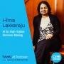 Artwork for AI for High-Stakes Decision Making with Hima Lakkaraju - #387