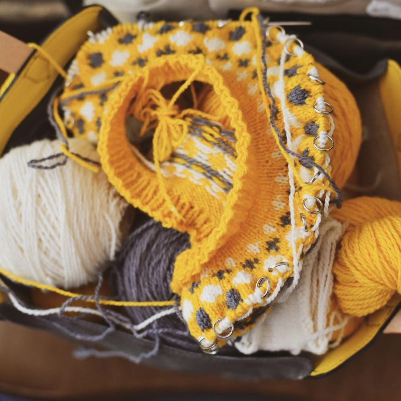 Vibranium Knitting Needles- Episode 628- The Knitmore Girls