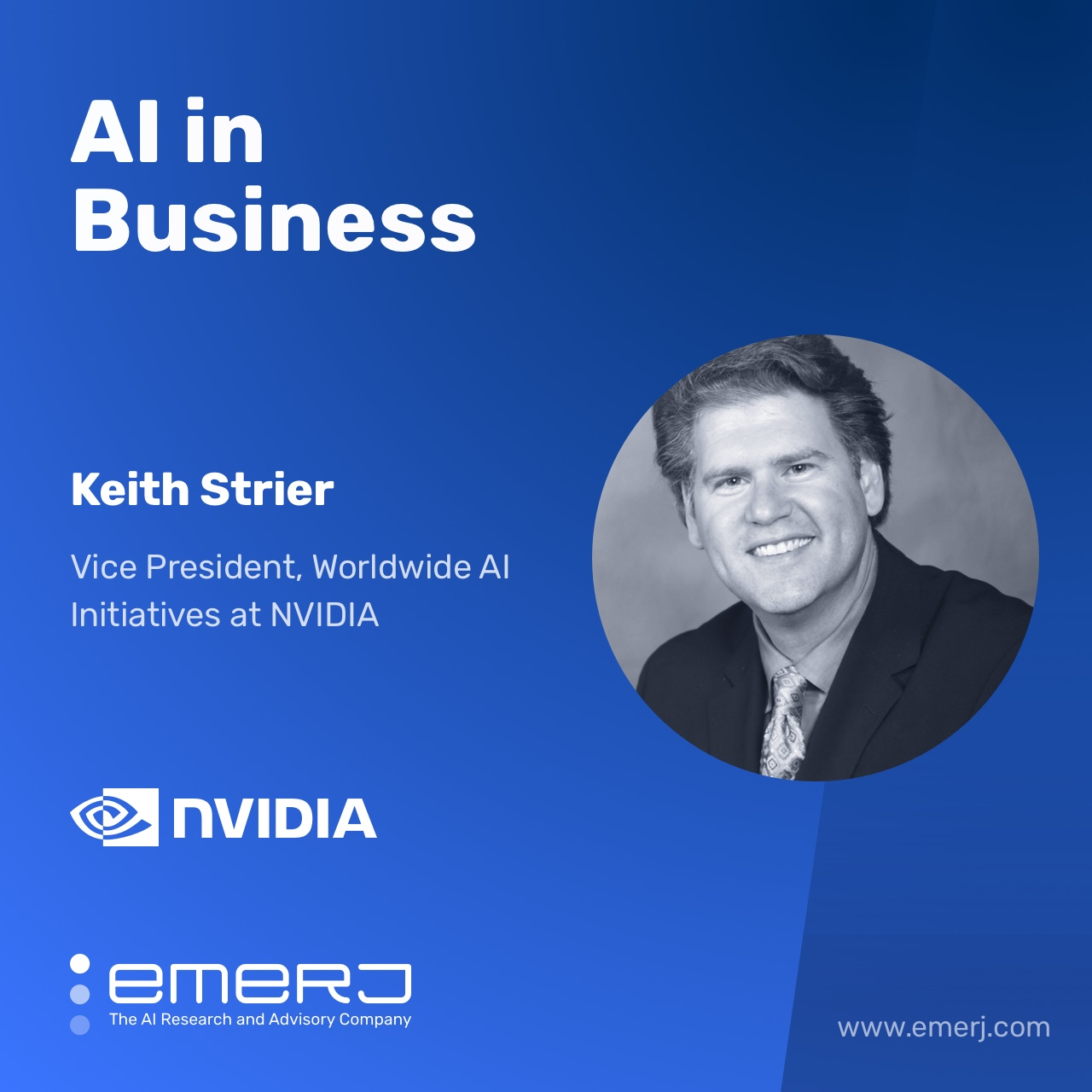 AI National Infrastructure and Strategy, What it Means and How to Do it Right - with Keith Strier of NVIDIA