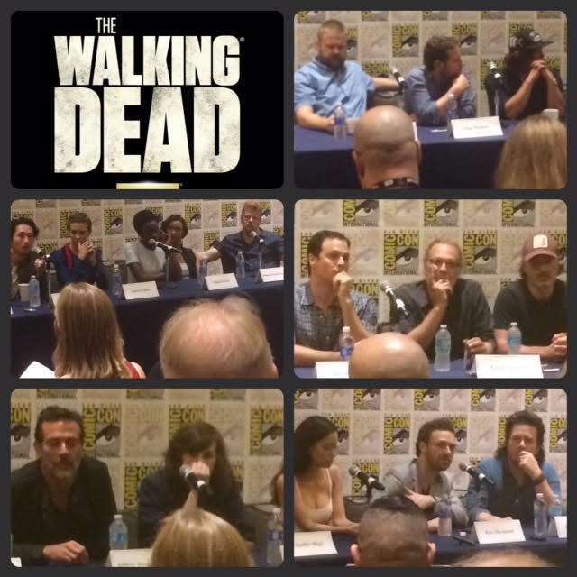 Episode 714 - SDCC: The Walking Dead w/ Andrew Lincoln/Norman Reedus/Steven Yeun/Lauren Cohan/Danai Gurira/Michael Cudlitz/Sonequa Martin-Green/Christian Serratos/Ross Marquand/Josh McDermitt/Jeffrey Dean Morgan/Robert Kirkman!