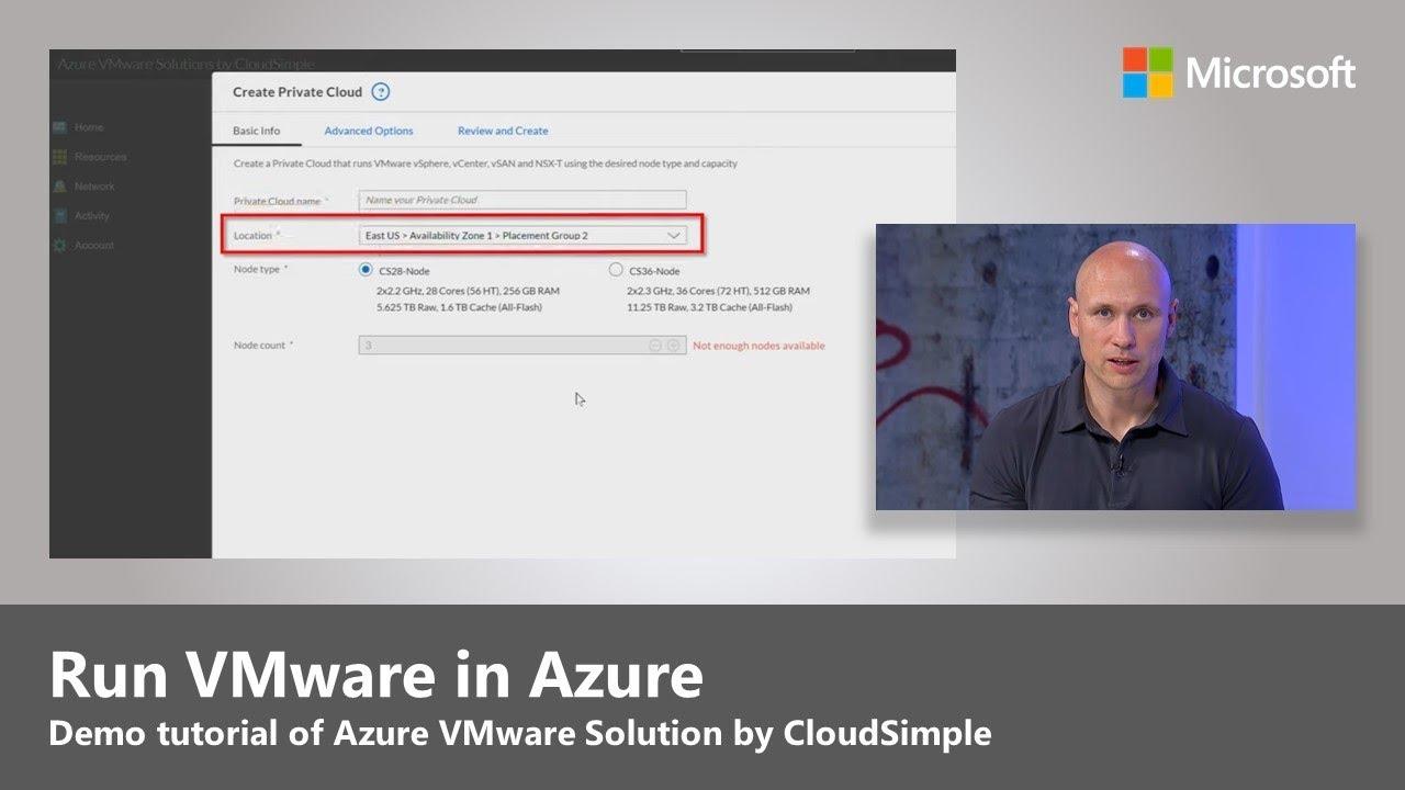 Artwork for How to run VMware in Azure - Demo Tutorial
