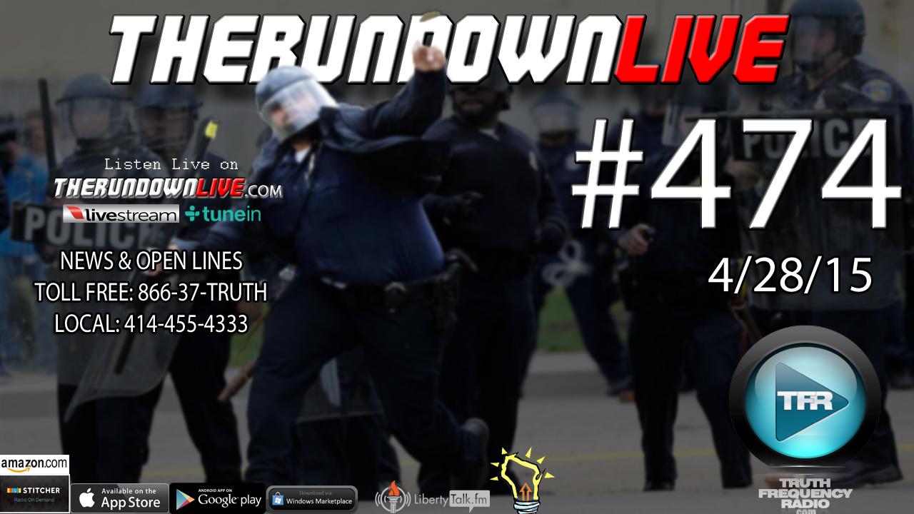 The Rundown Live #474 (Bush 9-11,AARP Subliminal Message,Potholes)