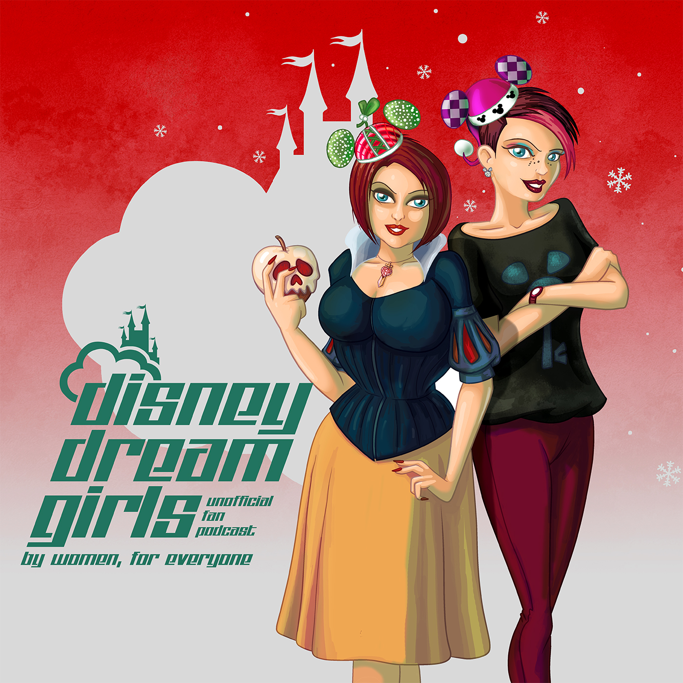 Disney Dream Girls 083 - Minxmas with the Mighty Men of Mouse Podcast