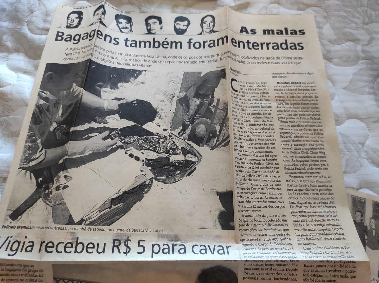 Matéria jornal o povo