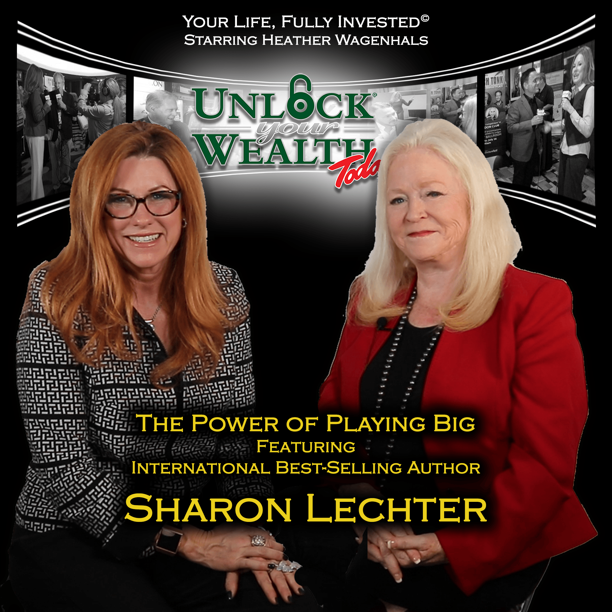 Artwork for Playing Big Movement Featuring Sharon Lechter