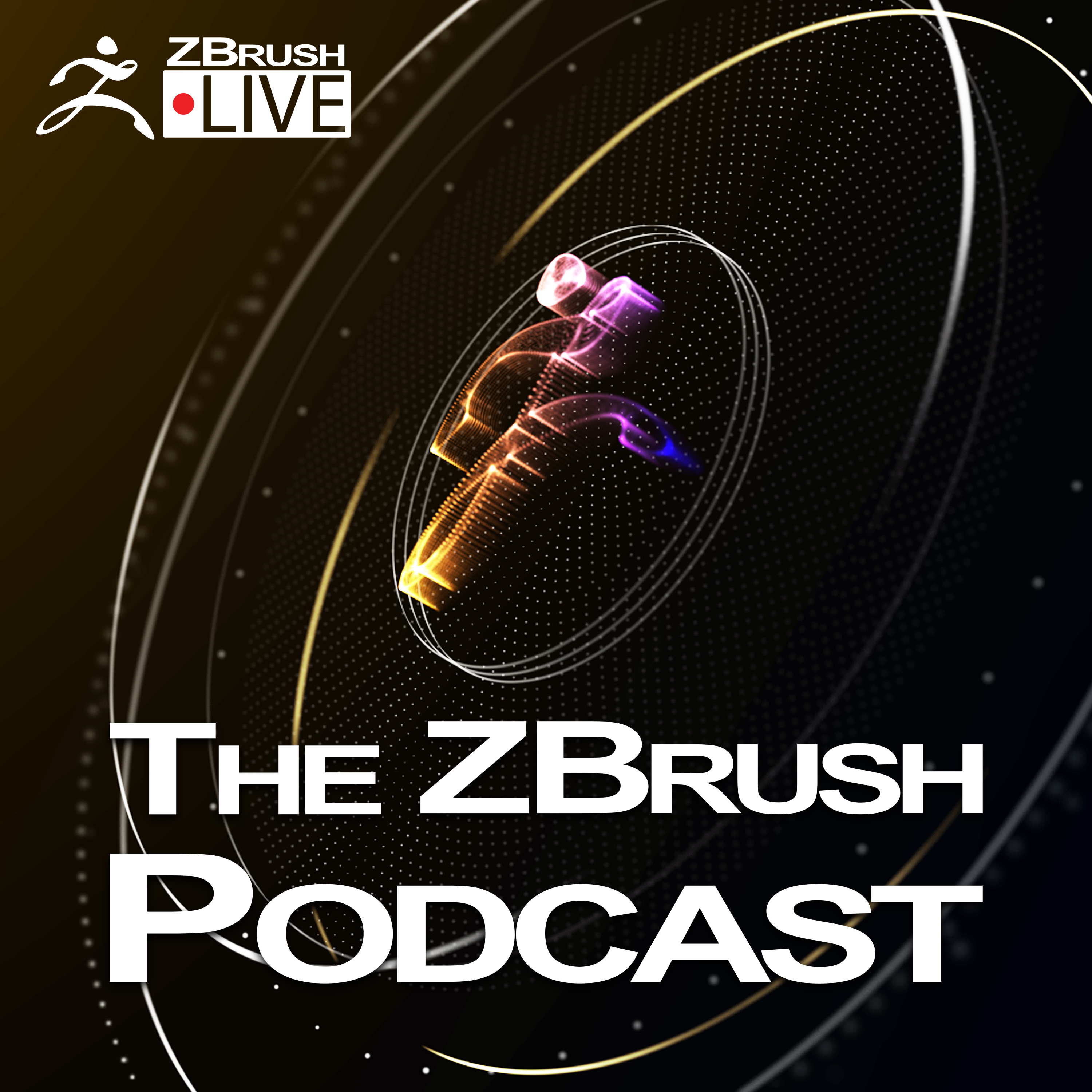 The ZBrush Podcast show art