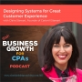 Artwork for 085 Designing Systems for Great Customer Experience, with Claire Stewart, Founder of Cartmill Stewart