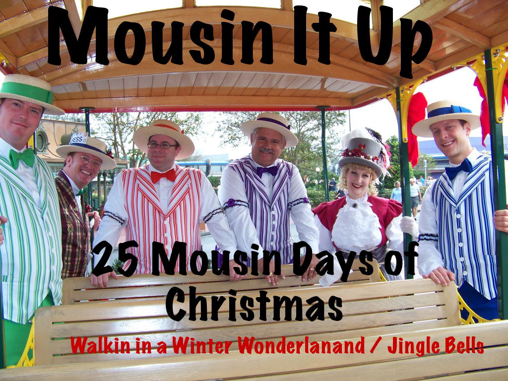 25 Mousin Days of Christmas - Day 5 - Winter Wonderland / Jingle Bells