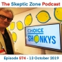 Artwork for The Skeptic Zone #574 - 13.October.2019