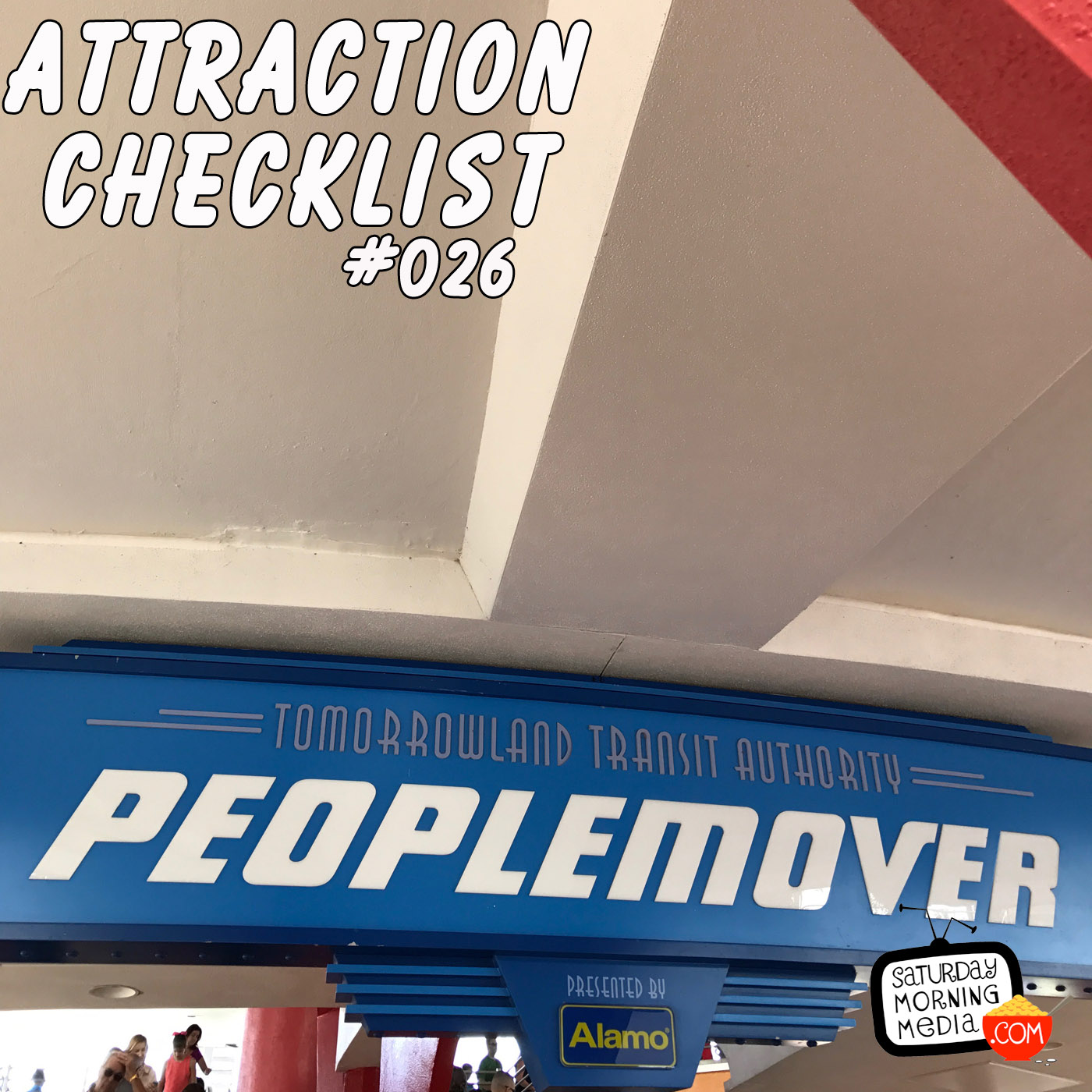 Artwork for Tomorrowland Transit Authority PeopleMover - Magic Kingdom - Attraction Checklist #026
