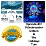 Artwork for UUOP #431 - Velocicoaster Details & The Holidays Tour
