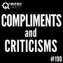 Artwork for #190: COMPLIMENTS & CRITICISMS - Daily Mentoring w/ Trevor Crane #greatnessquest