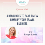 Artwork for 4 Resources to SAVE TIME  & SIMPLIFY your travel business