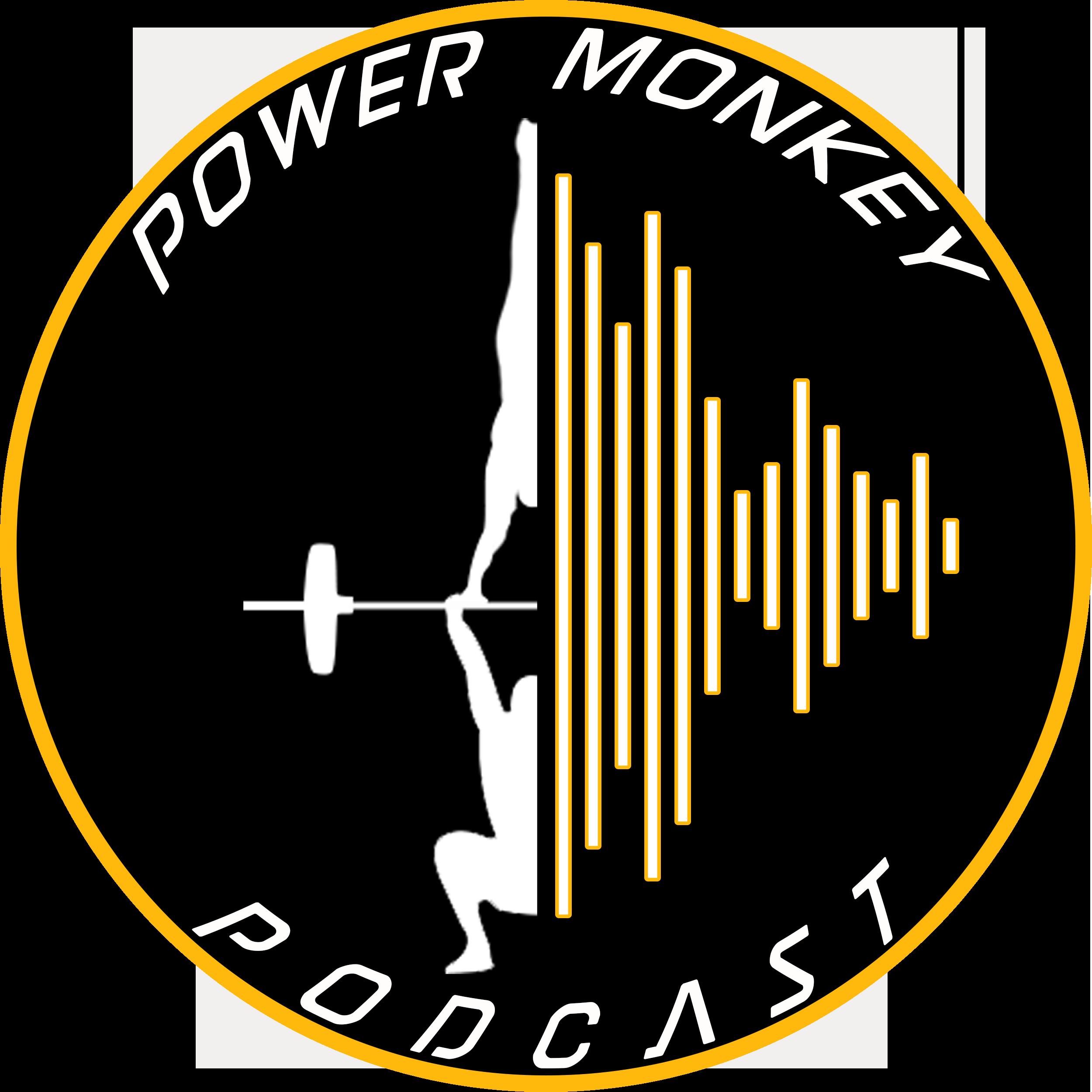 The Power Monkey Podcast show art
