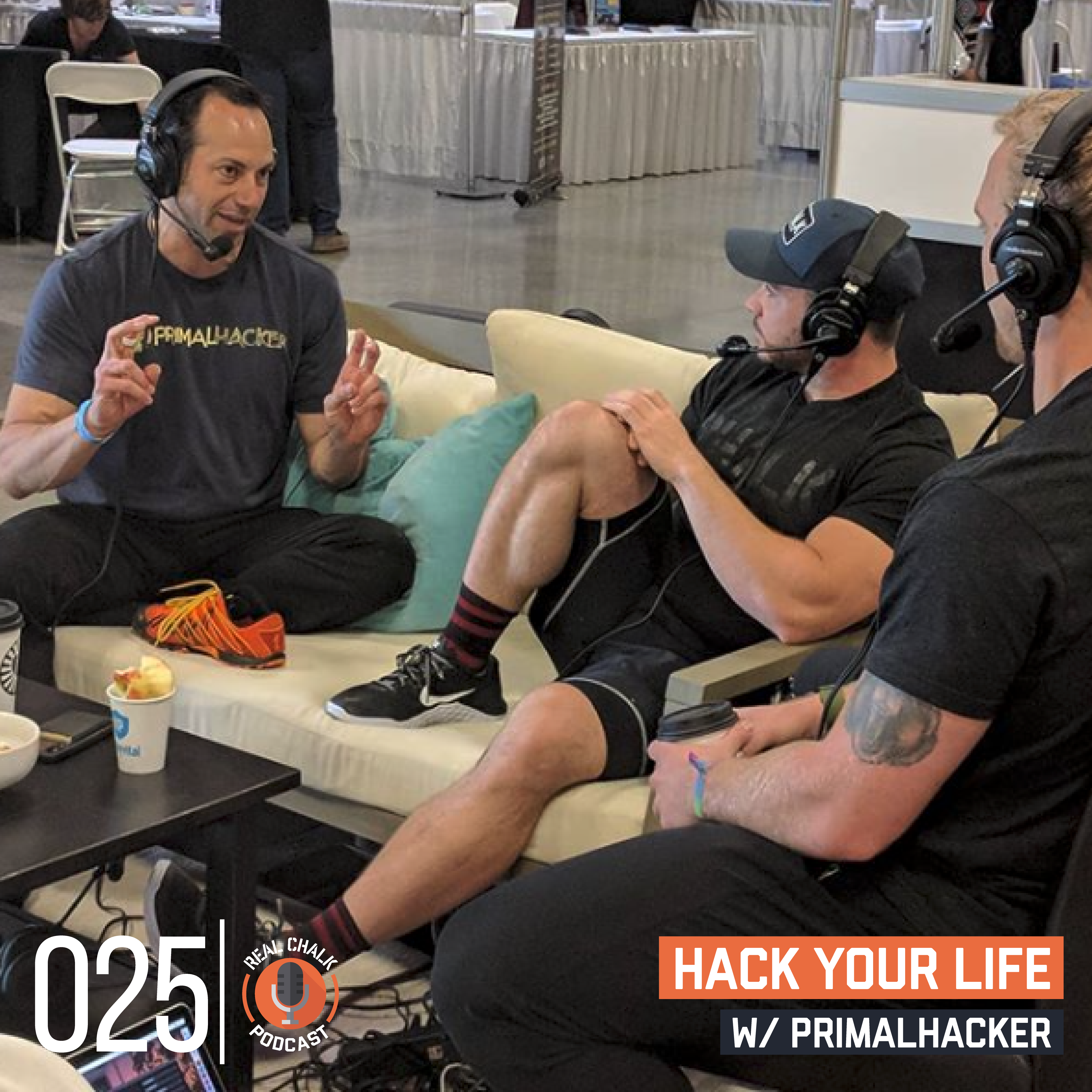 Real Chalk — Hack Your Life w/ PrimalHacker — 25 — Shrugged Collective