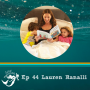 Artwork for 44: How to deal with chronic illness as a mom. Author Lauren Ranalli discusses her postpartum diabetes diagnosis.