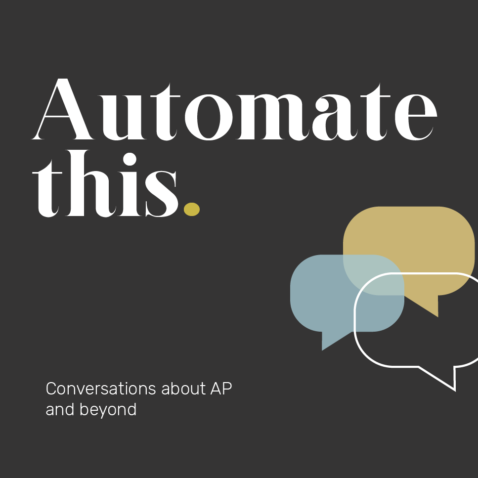 Artwork for Automate this. The State of ePayables report, part one.