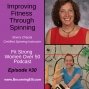 Artwork for Improving Fitness Through Spinning with Sherry Chlysta