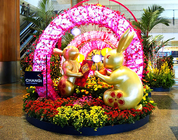 Happy Lunar New Year At Singapore's Changi Airport - Token Skeptic Podcast