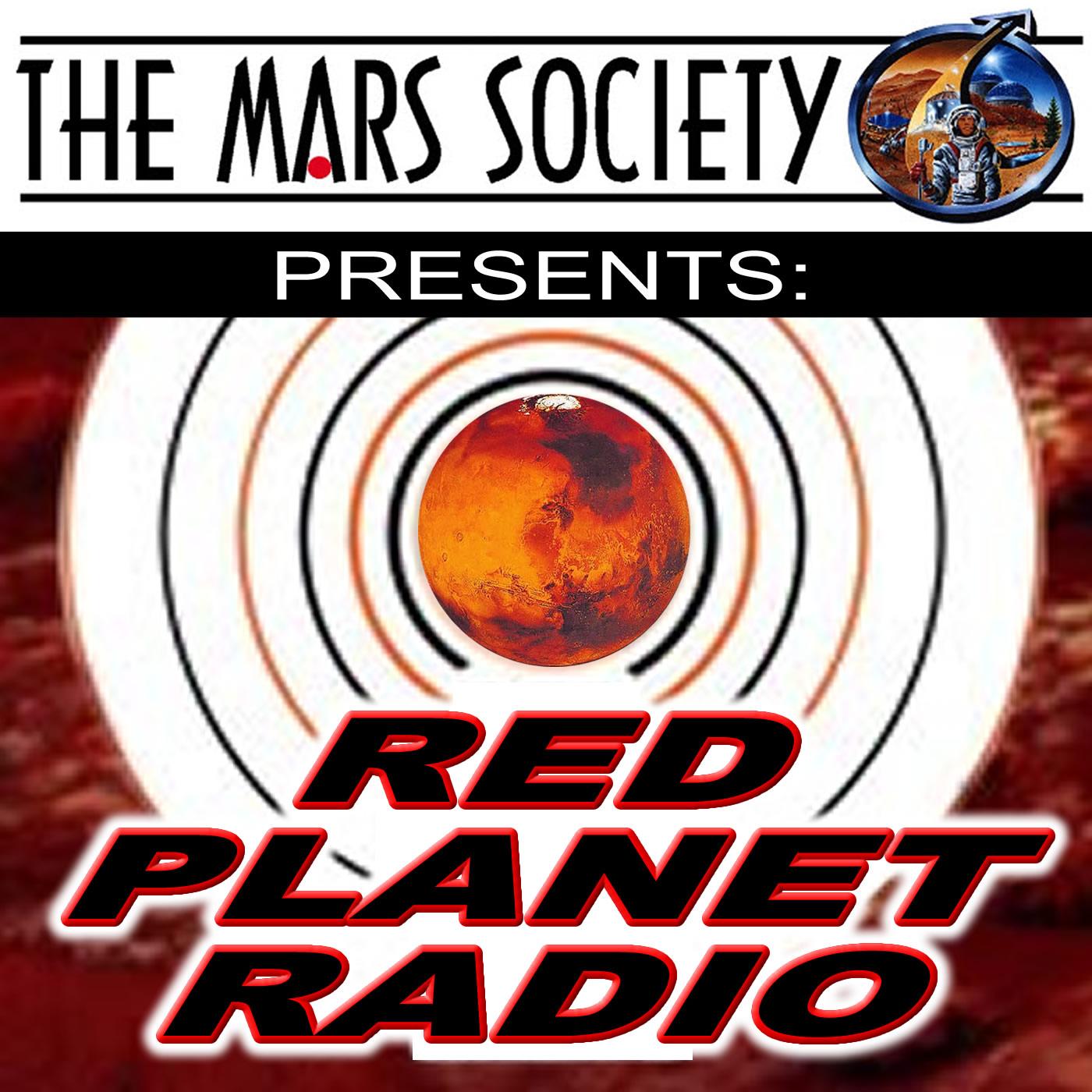 Red Planet Radio show art